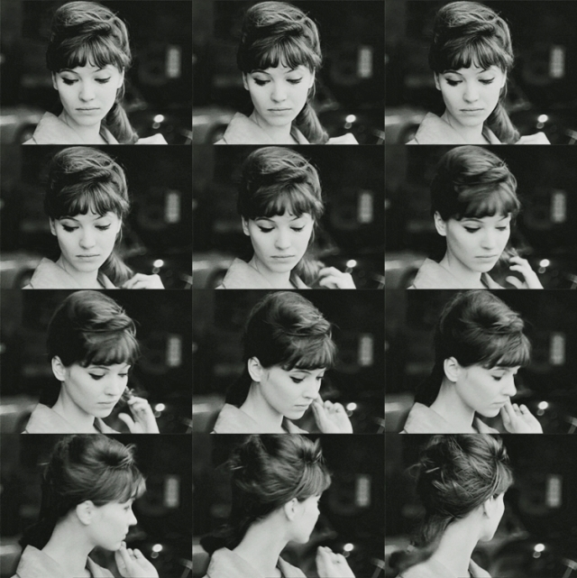The camera loves Anna Karina