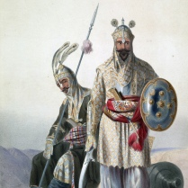 Afghan Royal Soldiers of the Durrani Empire, 1847