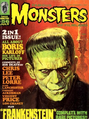 FAMOUS MONSTERS OF FILMLAND 56 1969