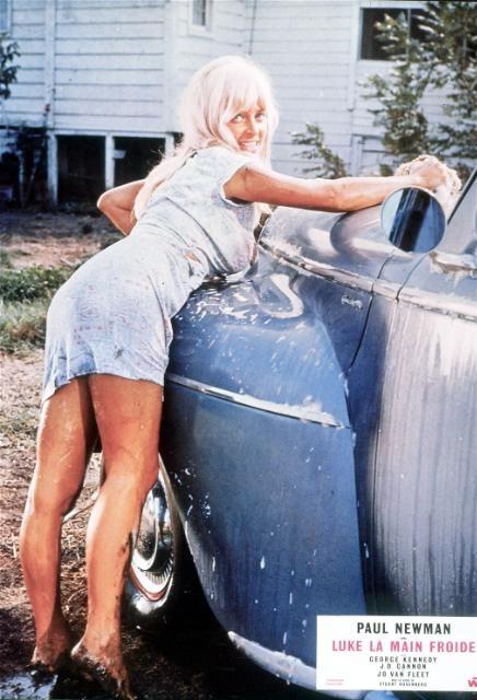 Cool hand luke car wash girl