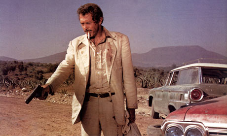 "Warren Oates in ""Bring Me the Head of Alfredo Garcia"""