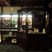 The front desk.