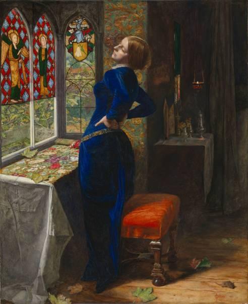 """""""Mariana"""" by Sir John Everett Millais, 1851"""