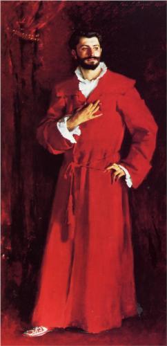 John Singer Sargent, Dr. Pozzi at Home (1881)