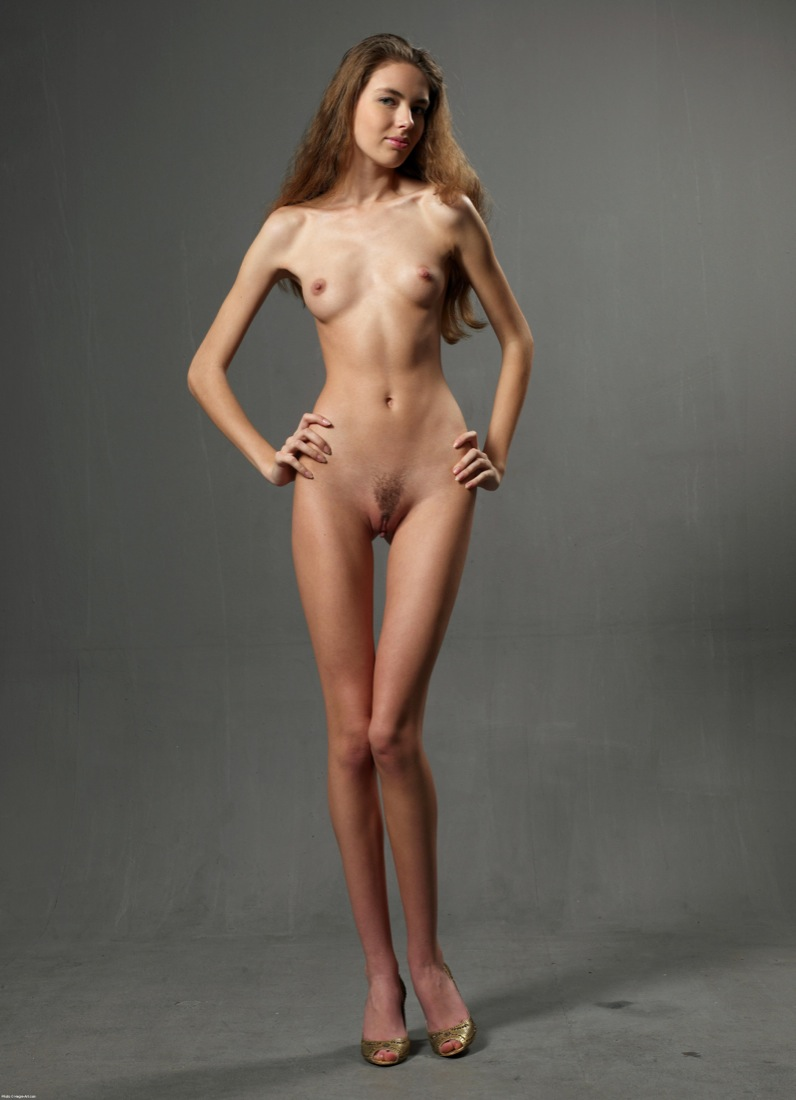 Sickly thin girls naked — pic 7