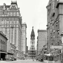 Broad Street, Philadelphia, 1909