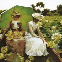 Curran Lotus Lilies, Charles Courtney, 1888