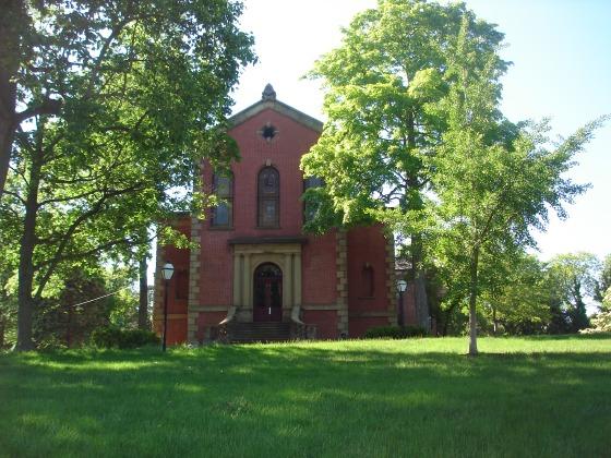 New Brunswick Theological Seminary--to make a later appearance