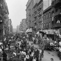 New York, Mulberry Street, 1900