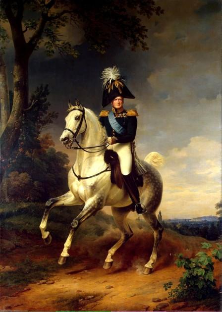 "Franz Krüger, ""Portrait of Alexander I of Russia,"" 1837"