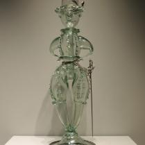 Joke glass, German or Dutch, 1600s
