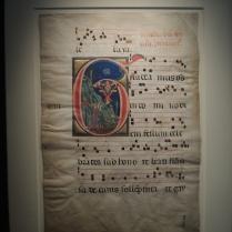 Attributed to Rinaldo da Siena, Initial G: The Stigmatization of St. Francis, Italian, c. 1275