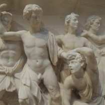 Detail of Greek relief or pediment. Sorry, I didn't write down the info and I couldn't find it in their database.