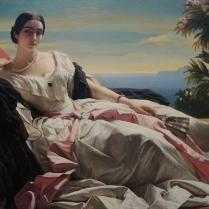 Franz Xaver Winterhalter, Portrait of Leonilla, Princess of Sayn-Wittgenstein-Sayn, German, 1843