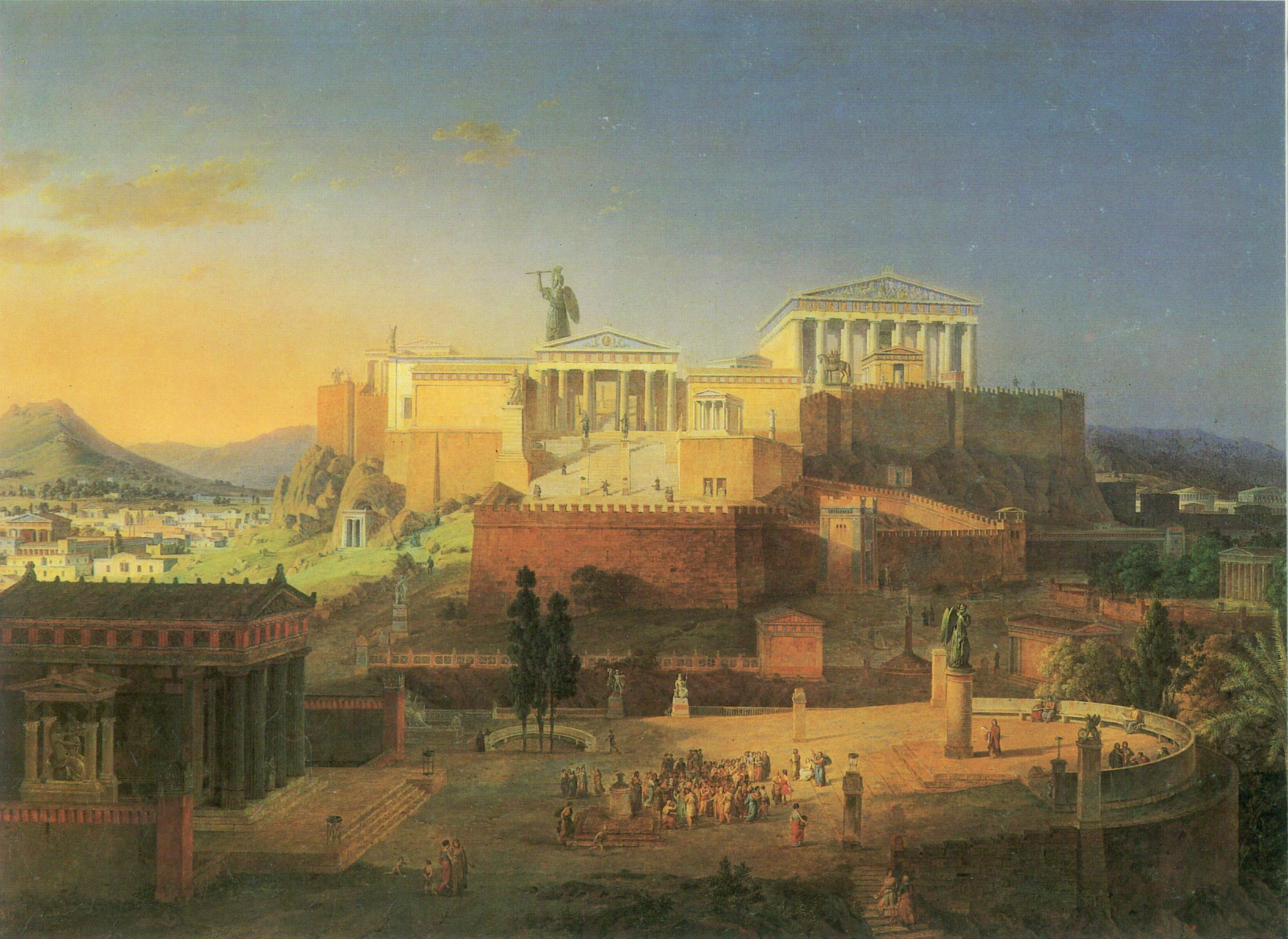 A Day in the Life of an Ancient Athenian Citizen | Uncouth ... Ancient Athenians