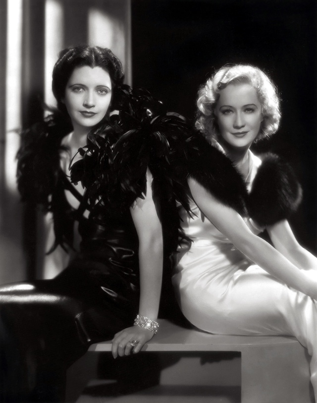 Kay Francis & Miriam Hopkins-The Trouble in Paradise 1932