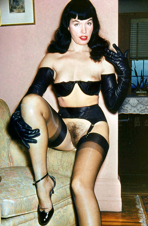 betty page naked