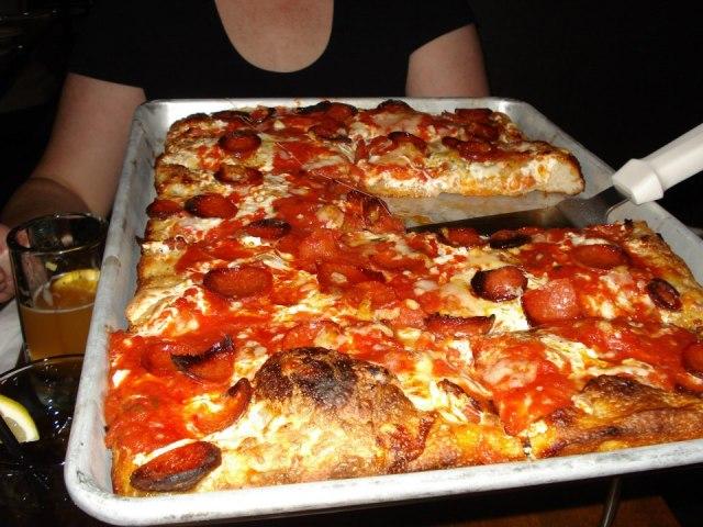 Dean's pizza.