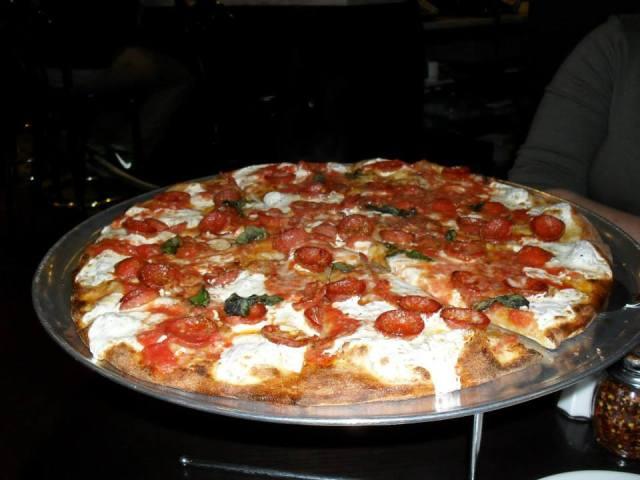 Juliana's pizza.