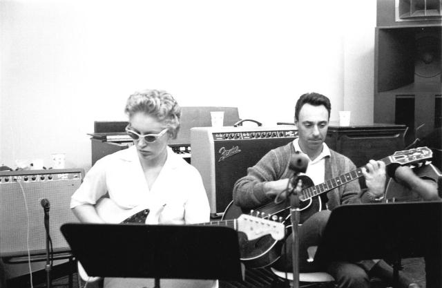 Bassist Carol Kaye and guitarist Bill Pitman.