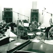 The Wrecking Crew in studio.