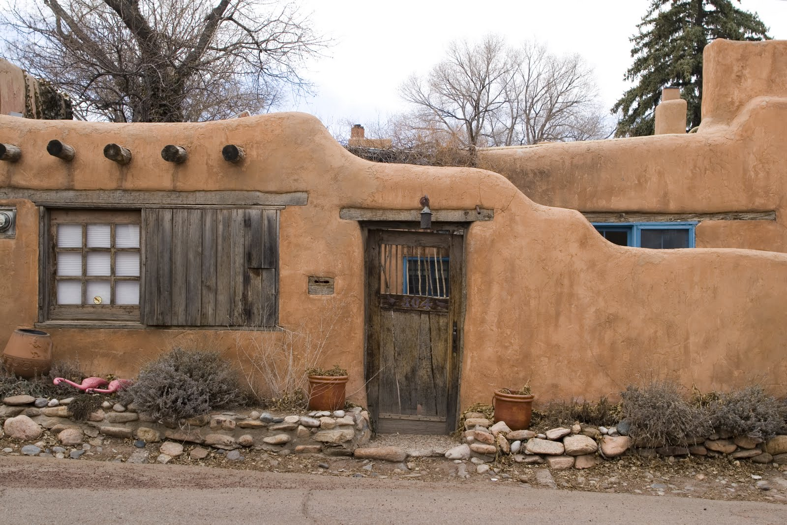 Architecture Du Jour The New Mexico Adobe House Uncouth
