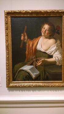 Jan van Biljert, Girl With A Flute, c1630