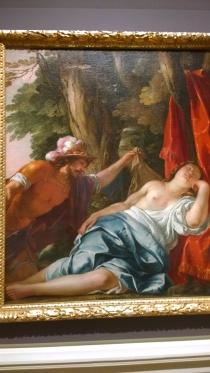Jacques Blanchard, Mars and the Vestal Virgin, c1637-8