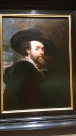 Peter Paul Rubens, Self-Portrait, 1623