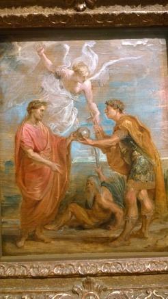 Peter Paul Rubens, Constantius appoints Constantine as his Successor, 1622