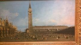 Antonio Canaletto, The Piazza San Marco, Venice, c1742-6