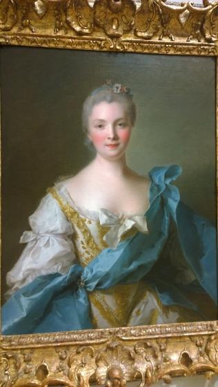 Jean-Marc Nattier, Madame de La Porte, 1754