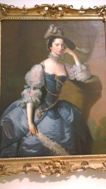 Joseph Wright of Derby, Margaret Oxenden c 1757-9