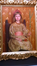 Thomas Cooper Gotch, My Crown and Sceptre, 1891