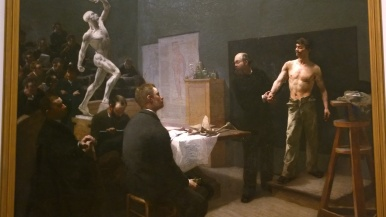 François Sallé, The Anatomy Class at the Ecole des Beaux Arts, 1888