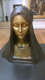 Agathon Léonard, Veiled Female Bust, c1900