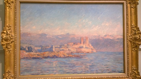 Claude Monet, The Château d'Antibes, 1888