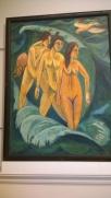 Ernest Ludwig Kirchner, Three Bathers, 1913