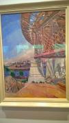 Crace Cossington Smith, The Curve of the Bridge 1928-9