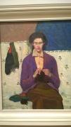 Grace Cossington Smith, The Sock Knitter, 1915