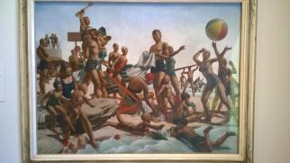 Charles Meere, Australian Beach Pattern, 1940