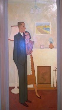 John Brack, The New House, 1953