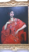 George W. Lambert, The Red Shawl, 1913