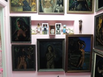 The Naked Lady Room.