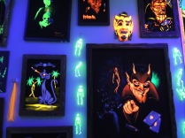 Of course there's a Black Light Room.