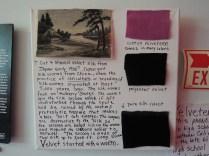 A little on the history of velvet paintings.