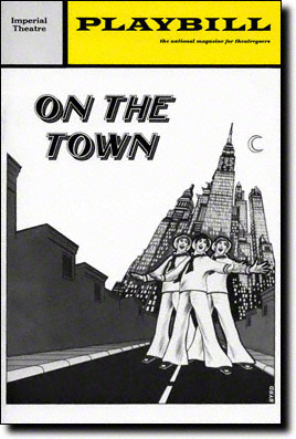 On-the-Town-1971-Playbill