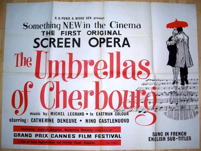 The Umbrellas of Cherbourg (UK)