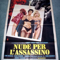 Strip Nude for Your Killer (Italian)