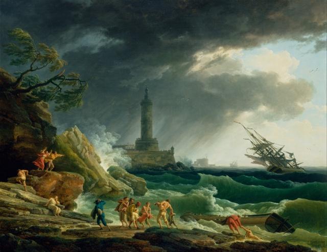 Claude-Joseph_Vernet_-_A_Storm_on_a_Mediterranean_Coast_-_Google_Art_Project
